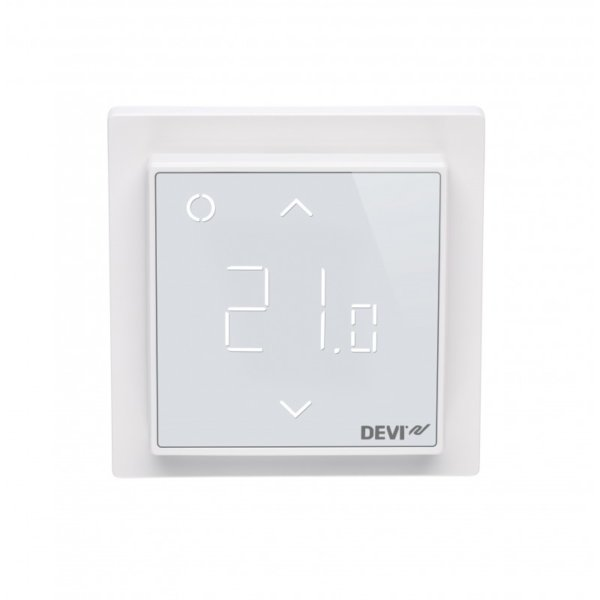 Wifi Thermostat Devireg Smart Polarweiss