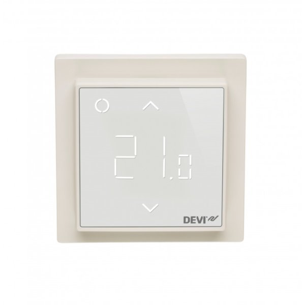 Wifi Thermostat Devireg Smart Reinweiss