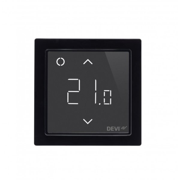 Wifi Thermostat Devireg Smart Schwarz